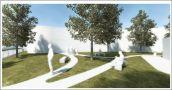 Paviljoen met tuin